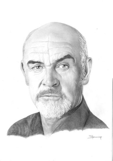 Sean Connery by Bubustars